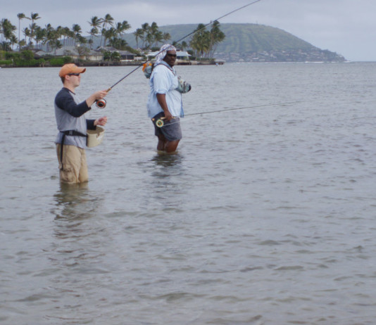 Hawaii offers fly fishing options
