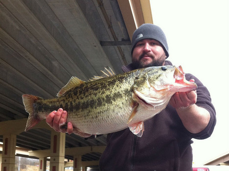 Lake Dunlap produced a ShareLunker bass in December