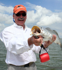 Speckled trout in Texas offer a superb fishery along the entire coast