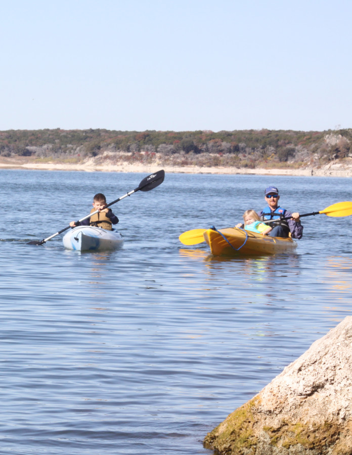 The Stephen F. Austin Paddling Trail is a cooperative effort between TPWD and Brazoria County Parks Department