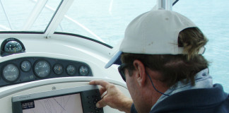 Any vessel less than 39 feet in length is required to have a whistle, horn or other sound-producing device onboard for the signaling of intentions and position if visibility is reduced.