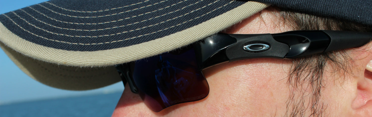 11b0f5aa28a Shallow Blue Iridium and Deep Blue polarized lenses are tailored to a  variety of Texas fishing Oakley Flak Jacket offers ...