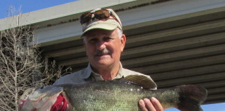 The fish was 27.28 inches long and 19.84 inches in girth.