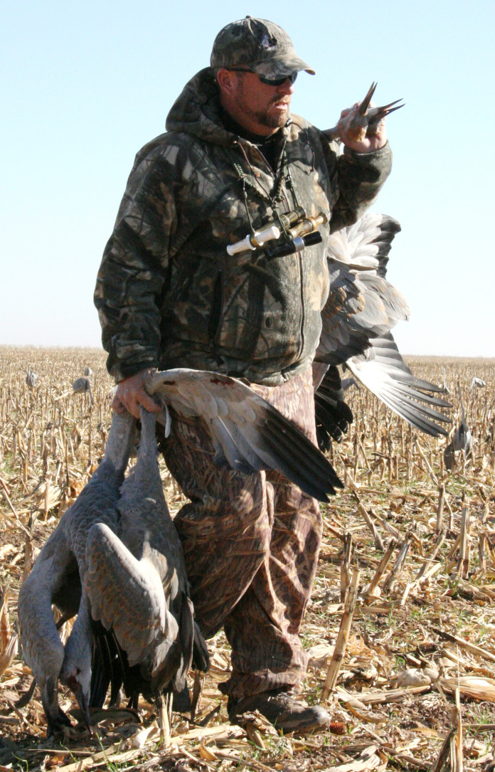 Texas sandhill crane hunters must have permit to pursue for Texas hunting and fishing license
